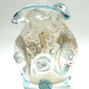 french art nouveau vase signed auguste jean