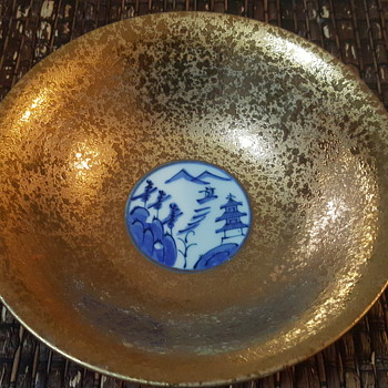 My gold Japanese bowl  - Asian