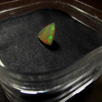 1/2 Carat Ethiopian Opal/Faceted - Fine Jewelry