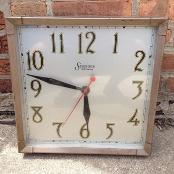 sessions wall clock - Clocks