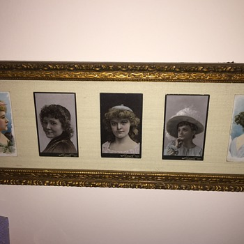 Pretty Cigarette Cards