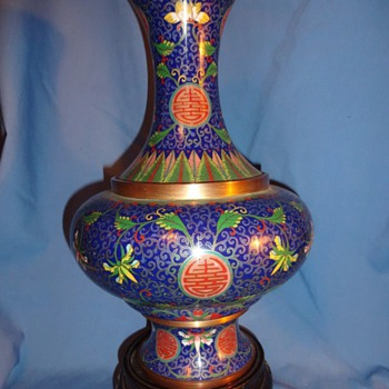 Original Examples of Early 20th Century Loa Tian Li Chinese Cloisonne