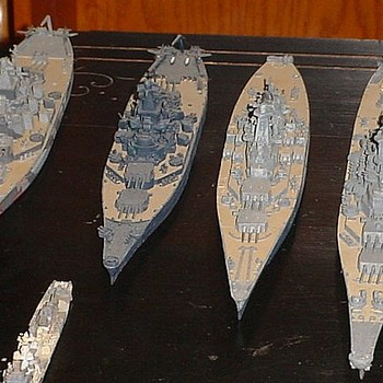 Tamiya Waterline Seires 1/700th Scale WWII Ships
