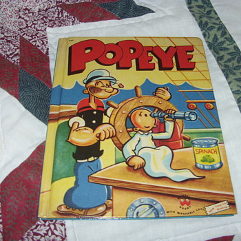 1955 popeye book - Books