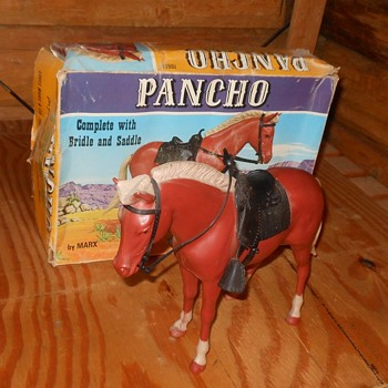 Marx Johnny West Pancho Pony