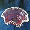 FENTON BRIDES BASKET LINER CRANBERRY? RUBY SNOWCREST?