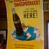 Coca Cola &quot;tour the world&#039; sweepstakes poster