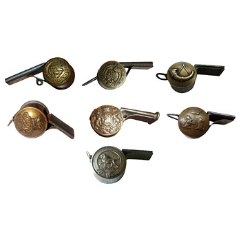 Tunic Button Whistles - Musical Instruments