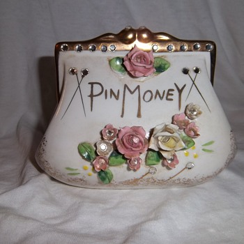 Pin Money Coin Bank - Lefton's - Coin Operated