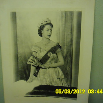 Black &amp; White QE2 Print - Photographs