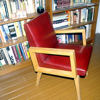 Mid Century California Chair by Sherman/Bertram - Furniture