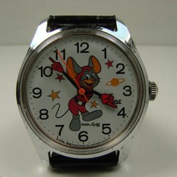 "Walter Lantz ""Space Mouse"" wrist watch"