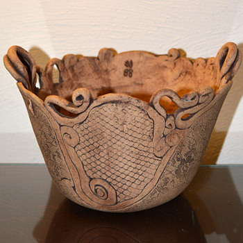Coiled Pottery   - Art Pottery