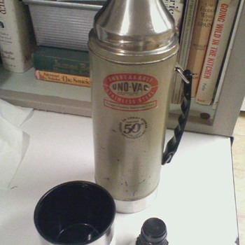Vintage Uno-Vac UnBreakable Hot or Cold Flask  U.S.A.