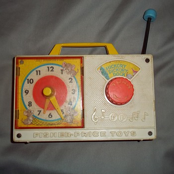 Two well loved Fisher Price toys - Radio and Camera