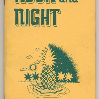 1935 - Dole Hawaiian Pineapple Recipe Booklet - Books