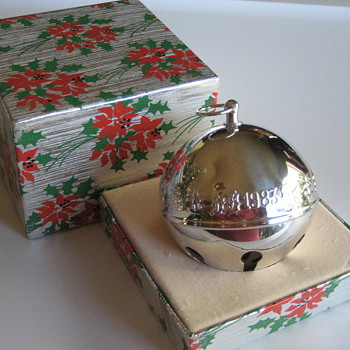 Wallace Silver Plate Sleigh Bell - Christmas