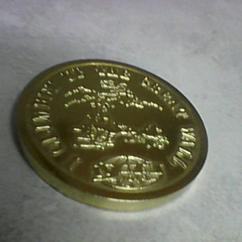 GREAT WALL OF CHINA MEDALLION