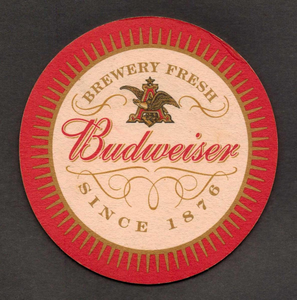 Quot Budweiser Quot Beer Coaster Collectors Weekly