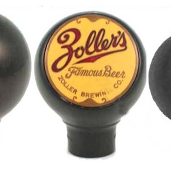 Old beer tap (ballknob)