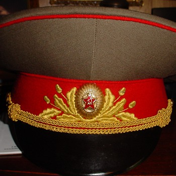 Service Dress Visor Cap of a Marshal of the Soviet Union - Military and Wartime