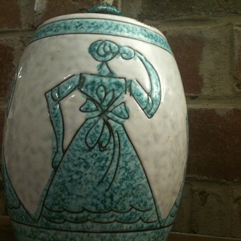 Mystery Lidded Jar - Art Pottery