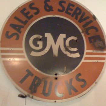 GMC Truck Sales and Service - Signs