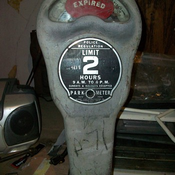 Old Nickel Parking Meter