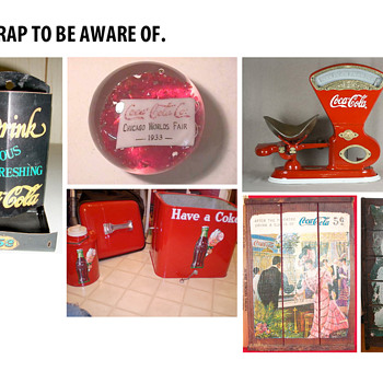 More Fake Coca-Cola Items