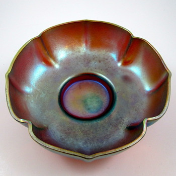 WMF Myra Form Nr. J.304 with original retail store label, ca. 1935 - Art Glass