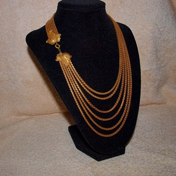 Vintage Joseff Necklace - Costume Jewelry