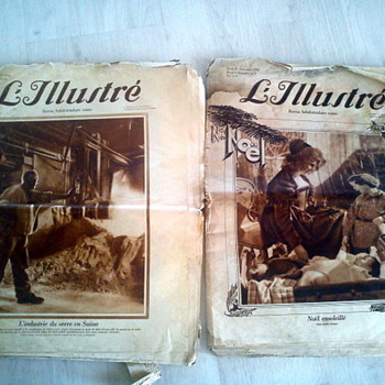 L'Illustre newspapers from the 1930!