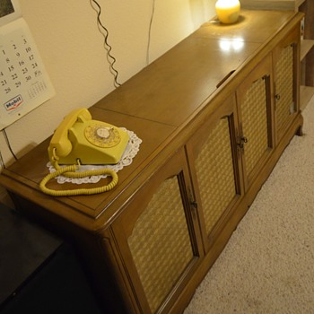 1961 Admiral Stereo-Reverb Stereo Console