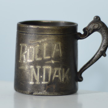 Vintage Rum Ration Cup - Sterling Silver