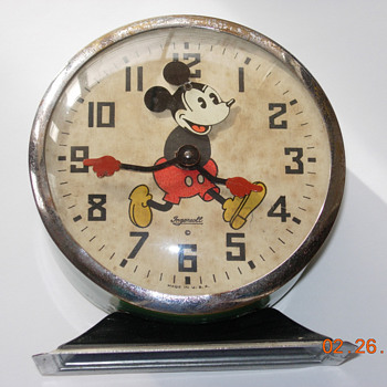 1934 Mickey Mouse Alarm Clock