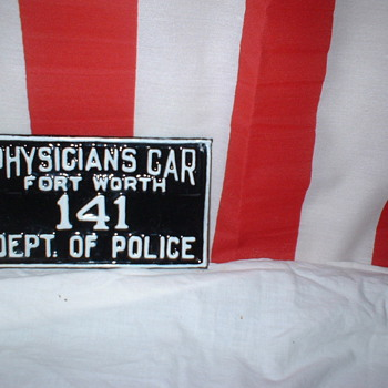 Rare Liscense plate - Signs