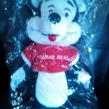 Hamms Stuffed Bear