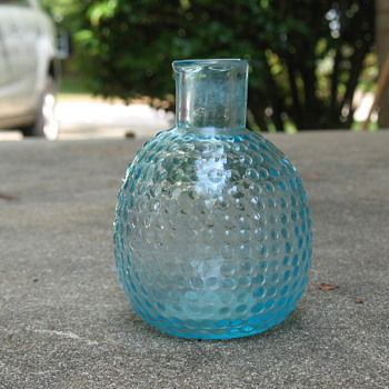 Nice Glass Bottle - Art Glass