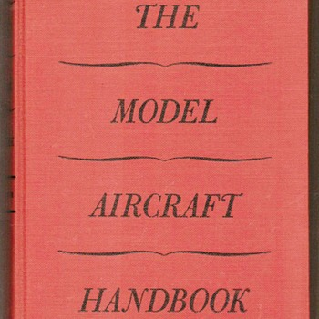 "1942 - ""Model Aircraft Handbook"" - Books"