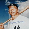 MICKEY MANTLE 16&quot; x 20&quot; Framed Autographed Photo