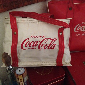 Coca Cola Vinyl Lunch Cooler