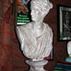 Circa 1900 [?] Chalkware Bust of Diana