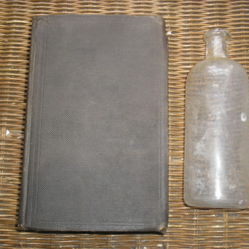 Original Patent Book and Bottle Owned by Thomas Edison - Books