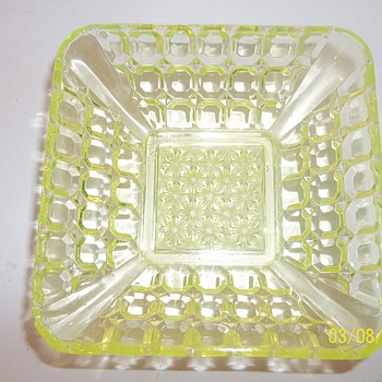 Butter dishes? - Glassware