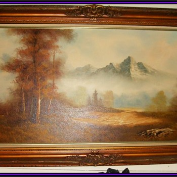 Very Large Wall Art Picture - Visual Art