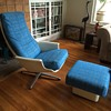 Unknown Lounge Chair and Ottoman
