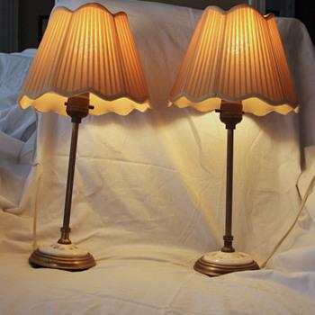 Vanity Lamps 1910-1945?