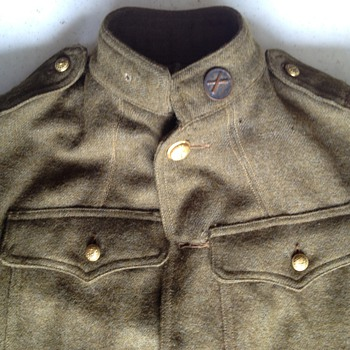 UNKNOWN MILITARY JACKET - Military and Wartime