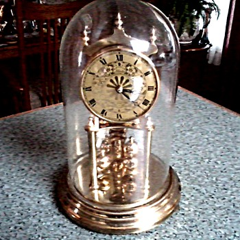 "West German ""Black Forest"" Kundo - Kieninger/Obergfell 400 Day ""Miniature"" Anniversary Clock / Circa 1950's or later - Clocks"