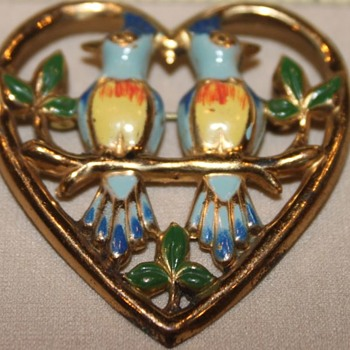Love Birds - Costume Jewelry